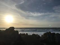 Spiaggia di stato di Asilomar Fotografia Stock Libera da Diritti