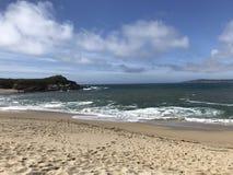 Spiaggia di stato di Asilomar Immagine Stock Libera da Diritti