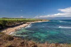 Spiaggia di stato di Ho'okipa Fotografia Stock Libera da Diritti