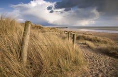 Spiaggia di Sussex Immagini Stock