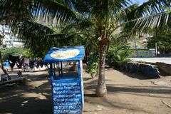 Spiaggia di Taganga, Santa Marta fotografia stock libera da diritti
