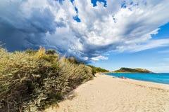 Spiaggia di Taillat del cappuccio Immagine Stock