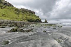 Spiaggia di Talisker Immagini Stock Libere da Diritti