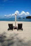 Spiaggia di Tanjung Rhu, Langkawi in Malesia Fotografie Stock Libere da Diritti