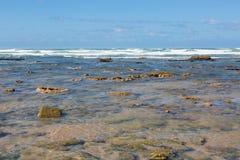 Spiaggia di Tantan in EL Ouatia, Marocco immagine stock