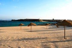 Spiaggia di Tarifa - la Spagna Immagini Stock