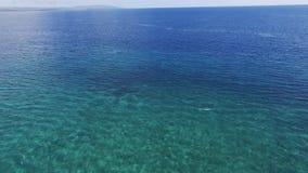 Spiaggia di Tarimbang, isola di Sumba, Indonesia stock footage