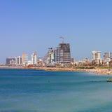 Spiaggia di Tel Aviv Immagini Stock Libere da Diritti