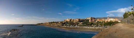 Spiaggia di Tenerife Immagine Stock