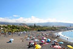 Spiaggia di Tenerife Fotografie Stock