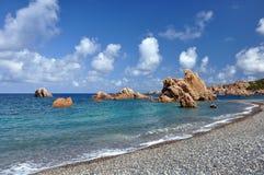 Spiaggia di Tinnari Fotografia Stock
