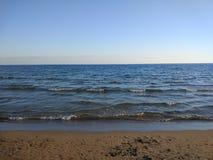 Spiaggia di Titriyengöl del lato di Adalia Manavgat Immagini Stock Libere da Diritti