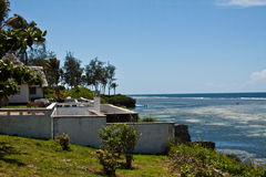 Spiaggia di Tiwi, Kenya fotografie stock libere da diritti