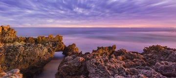 Spiaggia di Trigg Fotografia Stock