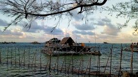 Spiaggia di Trikora, isola di Bintan immagine stock libera da diritti