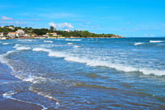 Spiaggia di Tsilivi in Zacinto fotografia stock