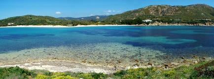 Spiaggia di Tuerredda Immagini Stock