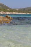 Spiaggia Di Tuerredda Obraz Stock