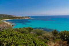 Spiaggia di Tuerredda Fotografia de Stock Royalty Free