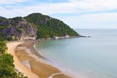 Spiaggia di tum-Kiab di Khao Fotografia Stock