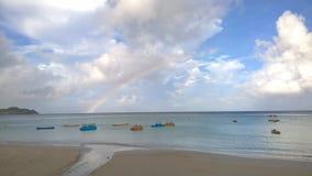Spiaggia di Tumon, Guam, U.S.A. Immagini Stock Libere da Diritti