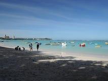 Spiaggia di Tumon nel Guam, Pacifico Meridionale Fotografia Stock Libera da Diritti