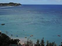 Spiaggia di Tumon nel Guam, Pacifico Meridionale fotografia stock