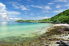 Spiaggia di Tumpung Fotografia Stock Libera da Diritti