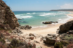 Spiaggia di Tunquen Immagini Stock Libere da Diritti