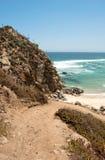 Spiaggia di Tunquen Fotografie Stock