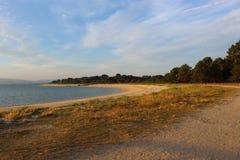 Spiaggia di un parco atlantico fotografie stock libere da diritti