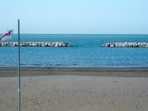 Spiaggia di vacanza in Italia Immagini Stock