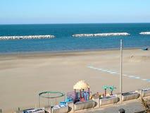 Spiaggia di vacanza in Italia Fotografia Stock Libera da Diritti