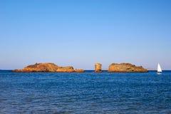 Spiaggia di Vai Immagini Stock Libere da Diritti