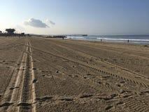 Spiaggia di Venezia fotografie stock