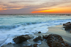 Spiaggia di Venezia, Florida Immagini Stock