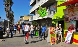 Spiaggia di Venezia, Stati Uniti Fotografia Stock Libera da Diritti