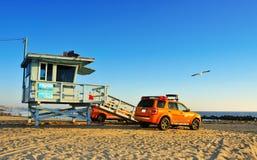 Spiaggia di Venezia, Stati Uniti Fotografia Stock