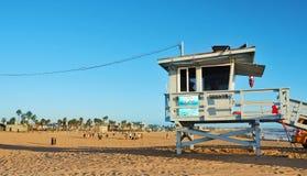 Spiaggia di Venezia, Stati Uniti Fotografie Stock