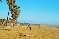 Spiaggia di Venezia, Venezia, Stati Uniti Fotografia Stock Libera da Diritti