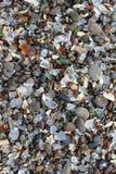 Spiaggia di vetro del mare Fotografia Stock