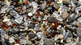 Spiaggia di vetro II Fotografie Stock
