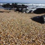 Spiaggia di vetro Kauai Immagini Stock