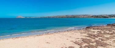 Spiaggia di Victor Harbor Fotografia Stock