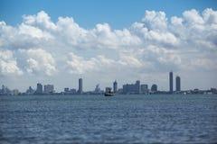 Spiaggia di vista del mare fotografie stock libere da diritti