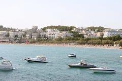 Spiaggia di Vouliagmeni immagine stock