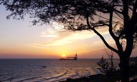 Spiaggia 03 di Vung Tau Fotografia Stock