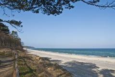 Spiaggia di Warnemunde Immagini Stock
