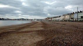 Spiaggia di Weymouth Fotografia Stock Libera da Diritti