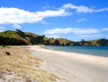 Spiaggia di Whangapoua, Nuova Zelanda Fotografie Stock Libere da Diritti